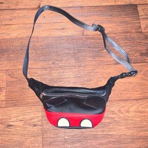 Loungefly Bags - Disney   Loungefly Mickey Mouse Fanny Pack